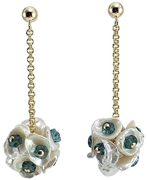 London Blue Topaz & Pearl